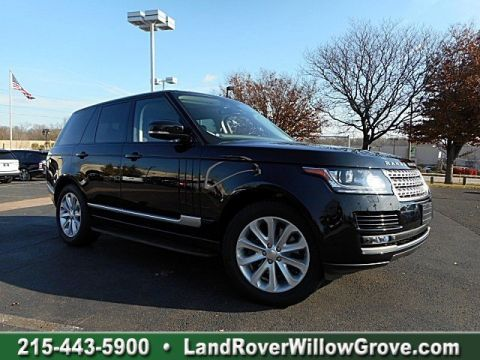 Certified Pre-Owned 2014 Land Rover Range Rover HSE With Navigation & 4WD