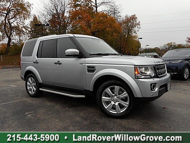 Certified Pre-Owned 2016 Land Rover LR4 HSE 4WD