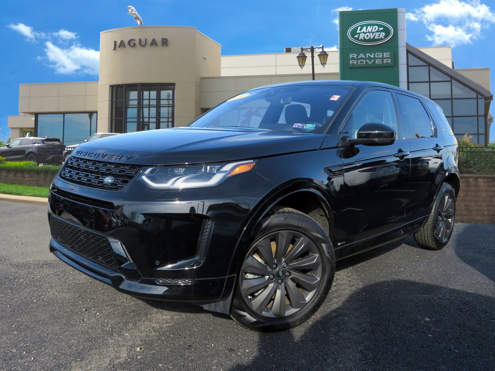 Certified Pre-Owned 2020 Land Rover Discovery Sport SE R-Dynamic
