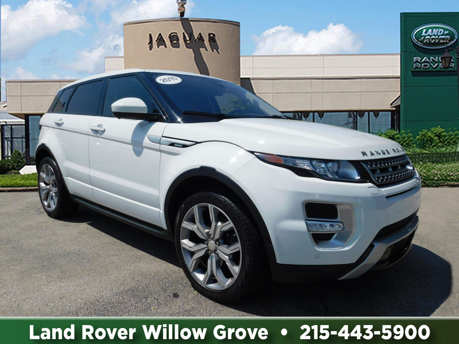 Certified Pre Owned 2015 Land Rover Range Rover Evoque Autobiography
