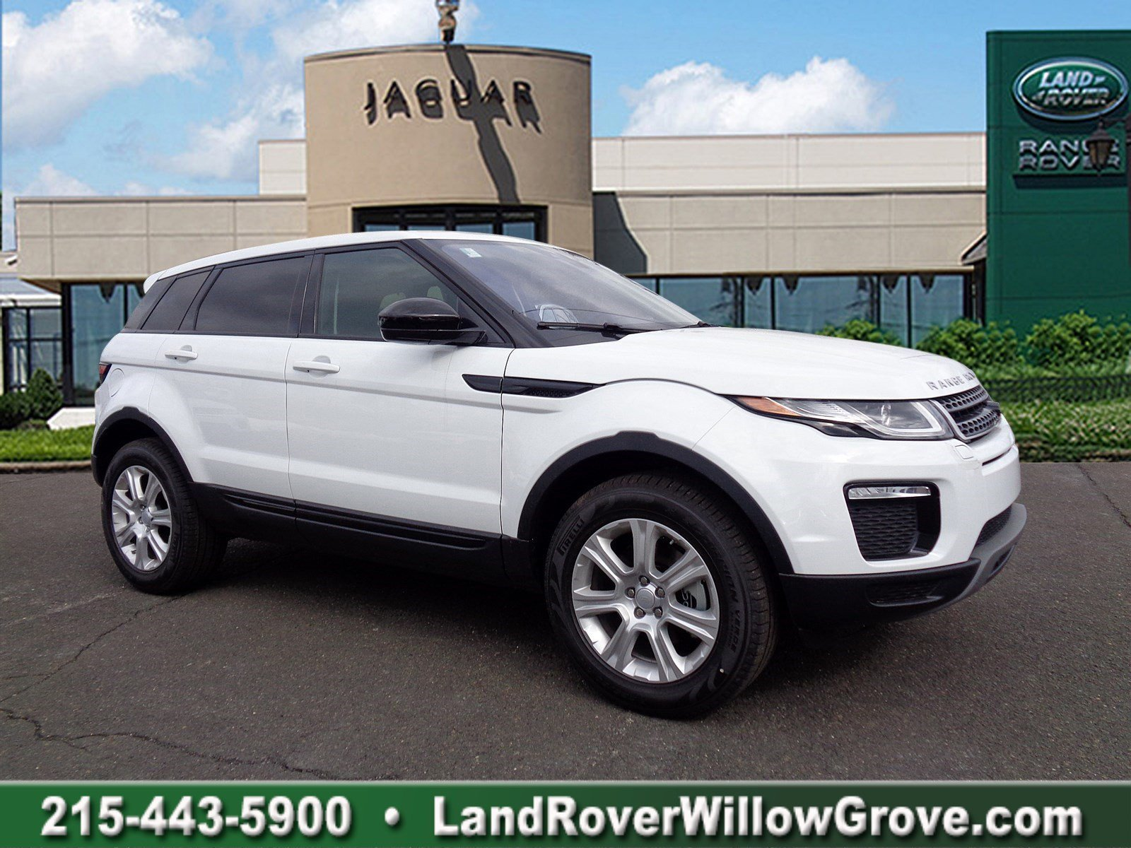 new 2018 land rover range rover evoque se premium sport utility in willow grove r18061 land. Black Bedroom Furniture Sets. Home Design Ideas