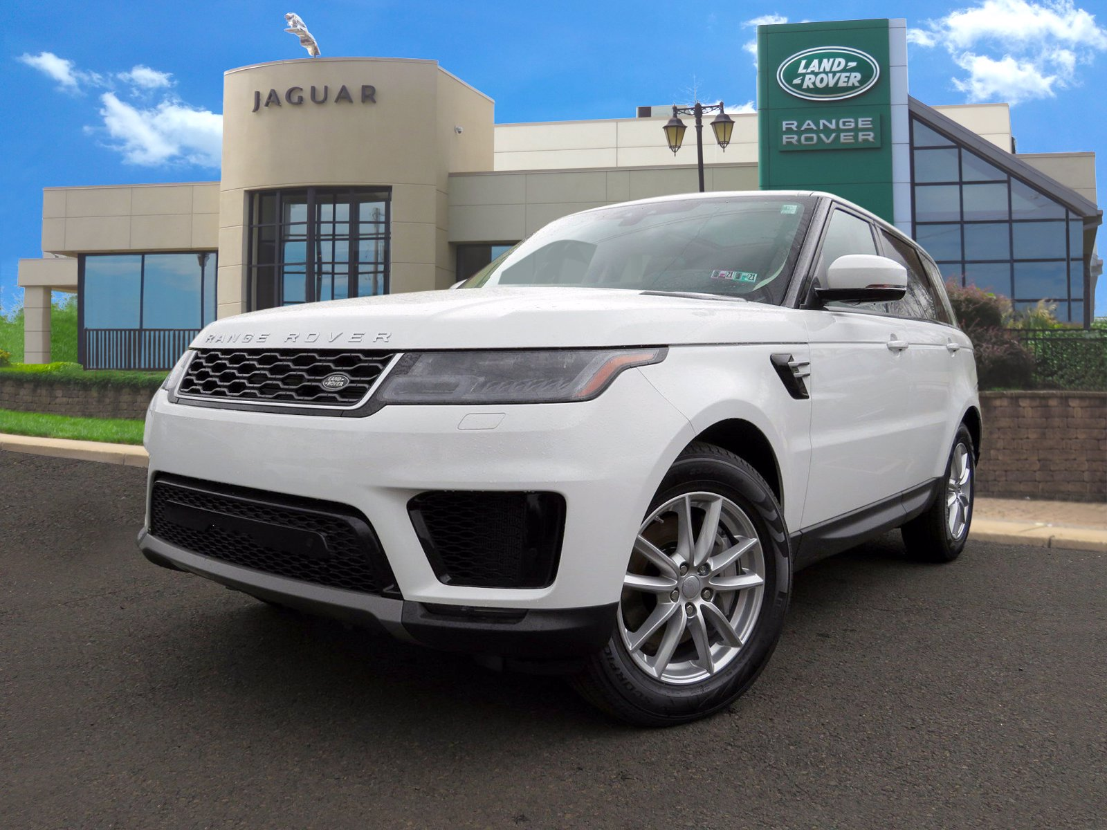New 2020 Land Rover Range Rover Sport SE With Navigation & 4WD