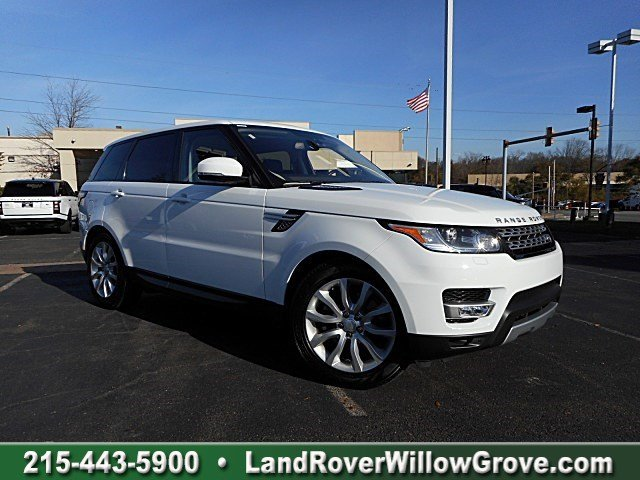 Certified Pre-Owned 2016 Land Rover Range Rover Sport V6 HSE With Navigation & 4WD