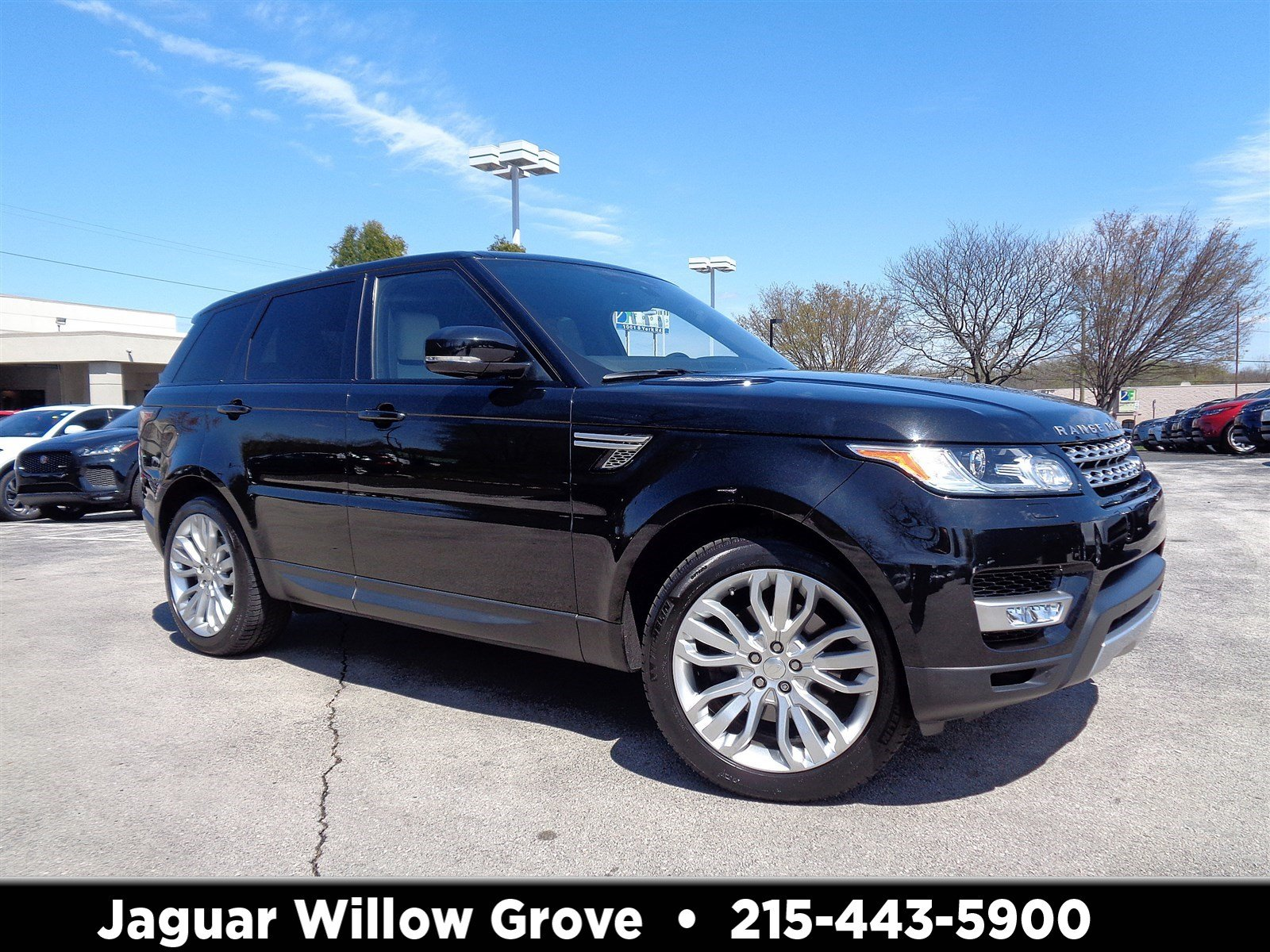 2015 Land Rover Range Rover Sport HSE With Navigation & 4WD