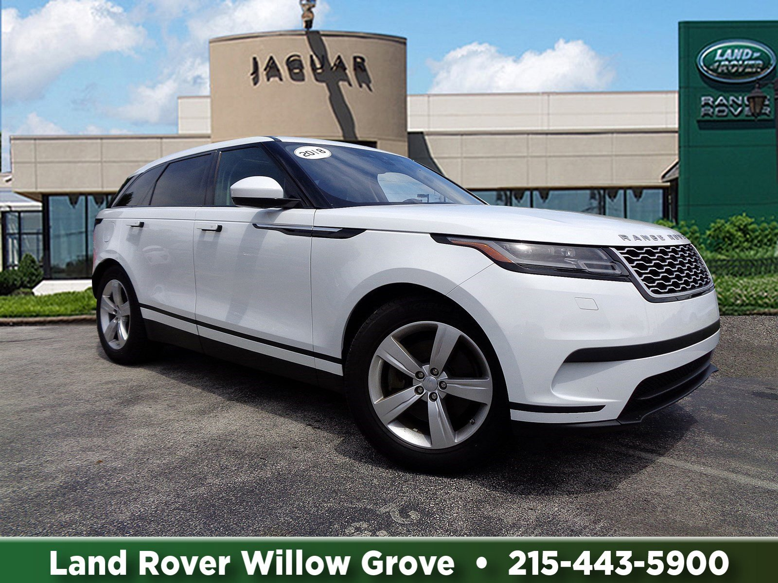 Certified Pre-Owned 2018 Land Rover Range Rover Velar S With Navigation & 4WD