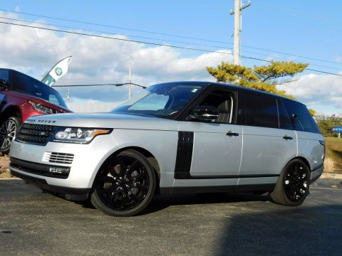 Certified Pre-Owned 2017 Land Rover Range Rover HSE